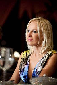 "Marika Gederte, ex miss Mondo and ""Go Blonde"" Founder in Riga"