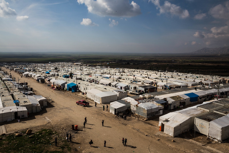 Rwanga Refugees' Camp, Duhok Region - Kurdistan Region of Iraq