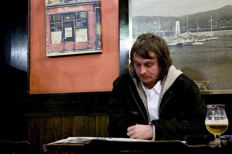 Man at the pub