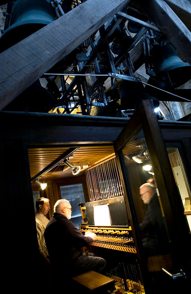 Lesson of Carillon in the Cathedral