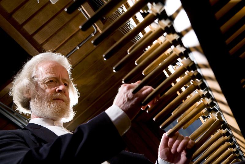 Jo Haazen playing Carillon in Mechelen Tower