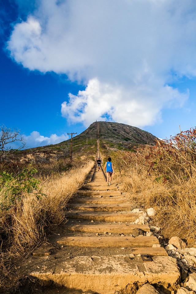 Koko Crater Stairs Trail