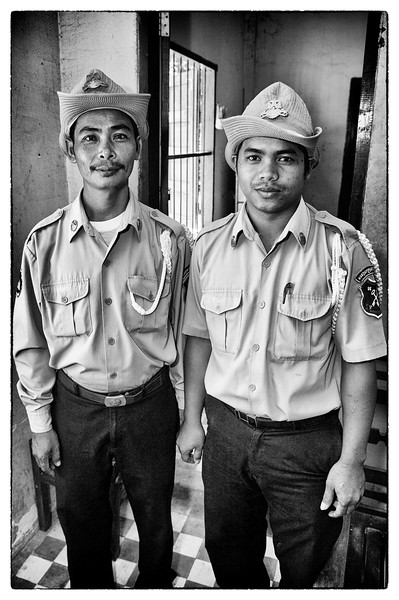Courtroom security officers