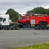 Mark 12A leaves Dunsford on Low Loader
