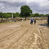 Mud on road not a deterrent