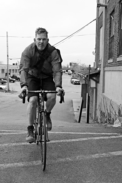 "Lloyd Graves is tall, dusty blond, and has an incongruous Southern drawl, a leftover from a childhood in Mississippi.  He founded and works for Independent Fabrication, a company that does something surprising:  they build bicycle frames in metropolitan Boston.  This might not have been surprising in 1920, but today making bikes in the U.S. is ""not the smartest thing in the world to get into.  The only way we do it is to make custom bikes.  We can't compete with China or India or anything like that.  We only do like 850 bikes a year.  Most of those orders come from the Continental U.S.  We can do what we can do that other people can't do very well."""