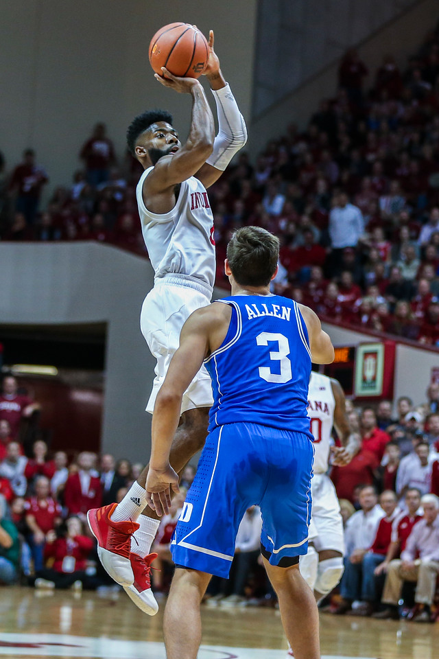 BLOOMINGTON, IN - 2017.11.29 - Men's Basketball vs. Duke University