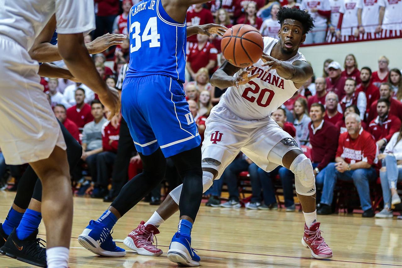 BLOOMINGTON, IN - 2017.11.29 - Men's Basketball vs. Duke University