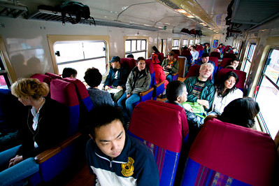 The train becomes a melting pot of mostly East Asian, European and North American passengers. I sat next to Daisuke, a 28 year old chemical engineer from Osaka, Japan traveling for the first time in Peru.