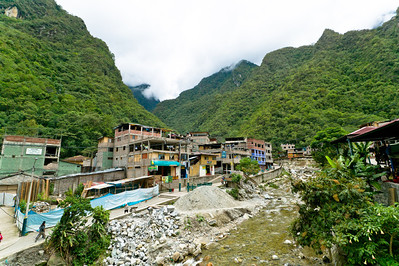 Aguas Calientes isn't exactly a beautiful town. Uncontrolled and rapid growth has produced a village in constant construction.