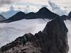 The ridge east from Skeie mountain, towards Veslebørn mountain. Jotunheimen National Park. Norway.