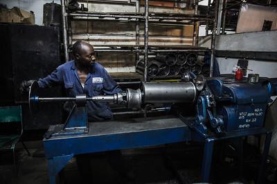 Kenyan Muffler Factory