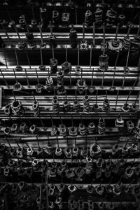 Parts in a Kenyan Muffler Factory