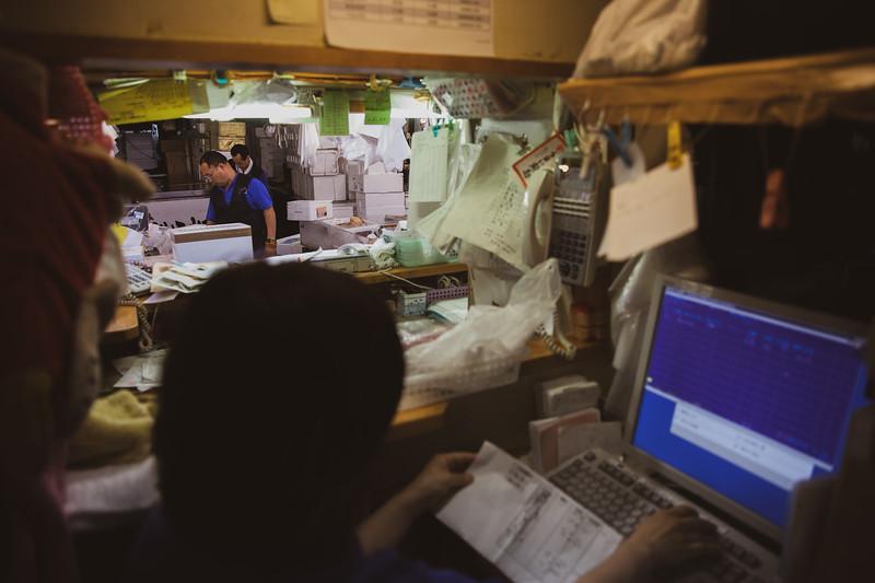 Last days of work - Tsukiji