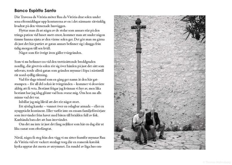 Novell V; Banco Espirito Santo i dess helhet