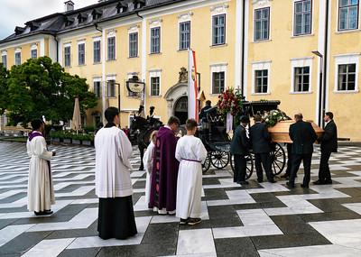 Funeral in Mondsee