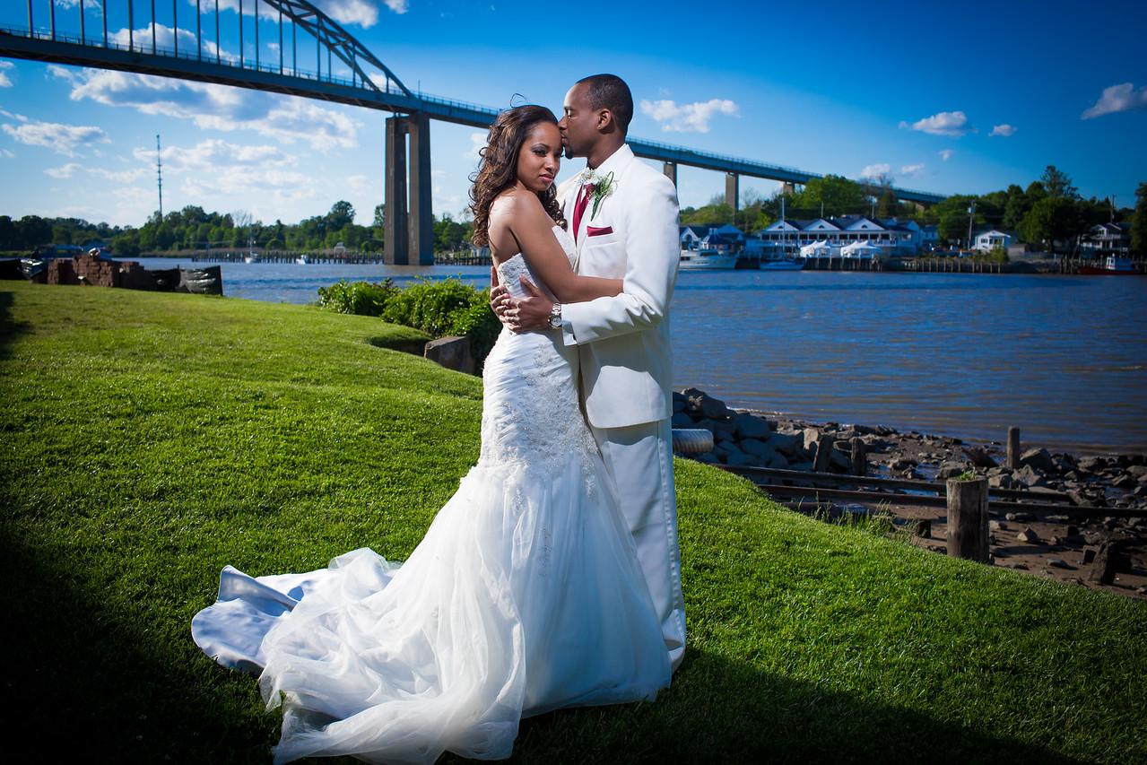 Romance by the bridge!