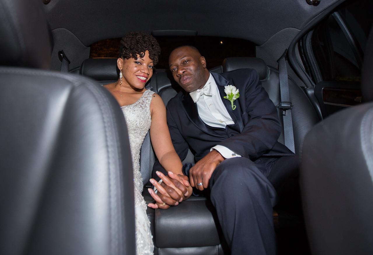 Off to the honeymoon!