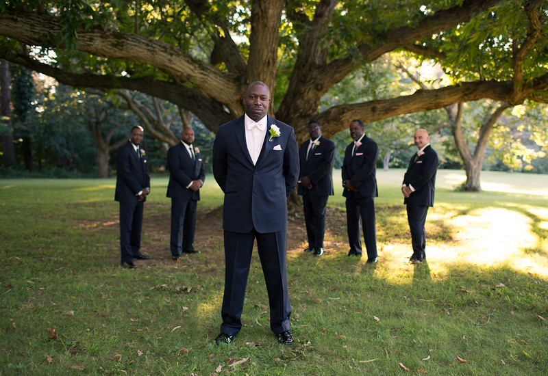The groomsmen!