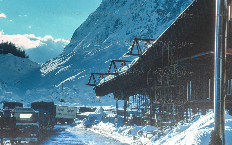 Italian side of Mont Blanc Tunnel