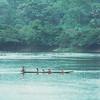 Canoe on Oubangui River