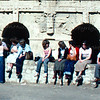Girls from the Feb 79 Lon Jo'burg at El Jem
