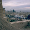 Herat town and mosques from Herat Fortress