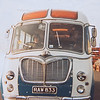 Our Bedford coach at Felixstowe docks