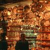 Colourful market shop