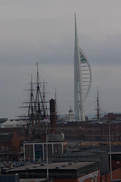 Arriving back at Portsmouth