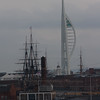 Arriving back at Portsmouth