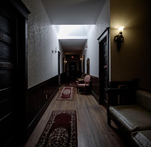 Old hallway to my room.
