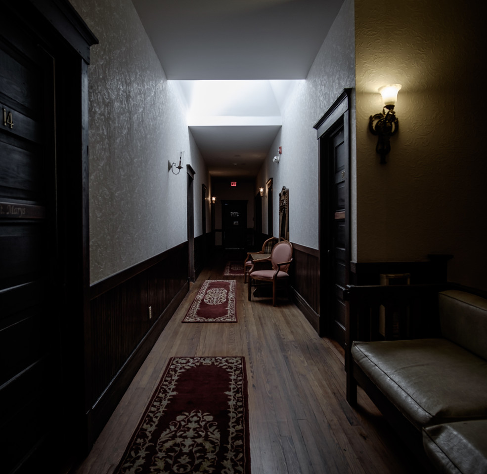 Old hallway to my room.