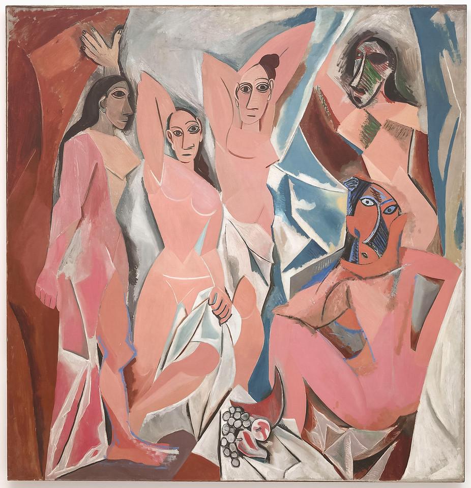 """Pablo Picasso, """"Les Demoiselles d""""Avignon"""", 1907"""