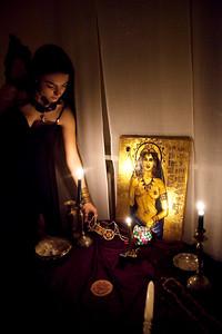 Valentina and Ishtar's altar