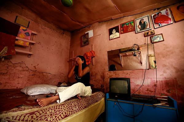 Workers inside Brothels, Bangladesh.