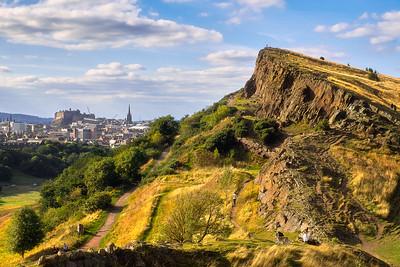 Arthur's Seat and the Salisbury Crags – Edinburgh, Scotland