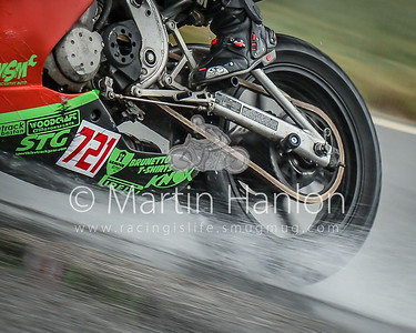 Friday 2:02pm: Wet track vs wet tyres.