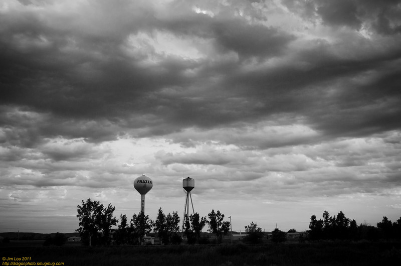 We drove through many American Indian reservations.  It was sad to see once proud nations been penned up, reduced to run down homes, while littered with casinos.