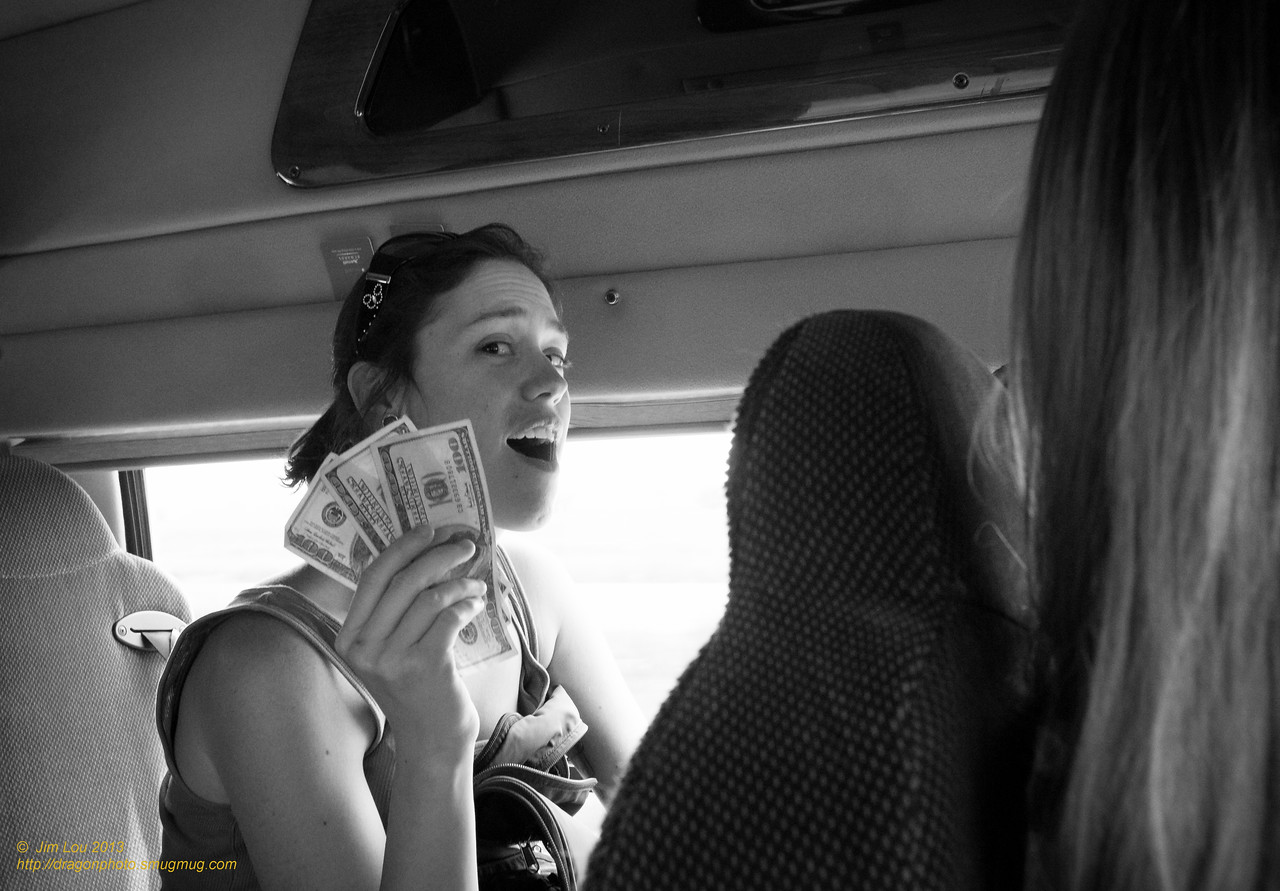 Julie found her money!!!