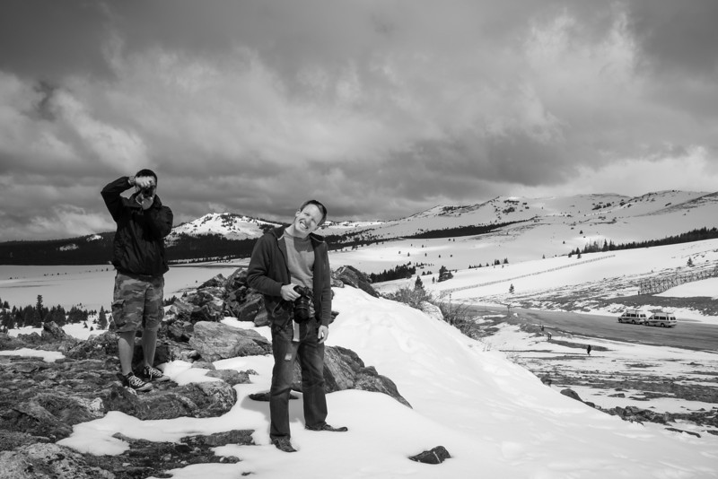 Nate(right) and Paul were visualizing with new perspectives..