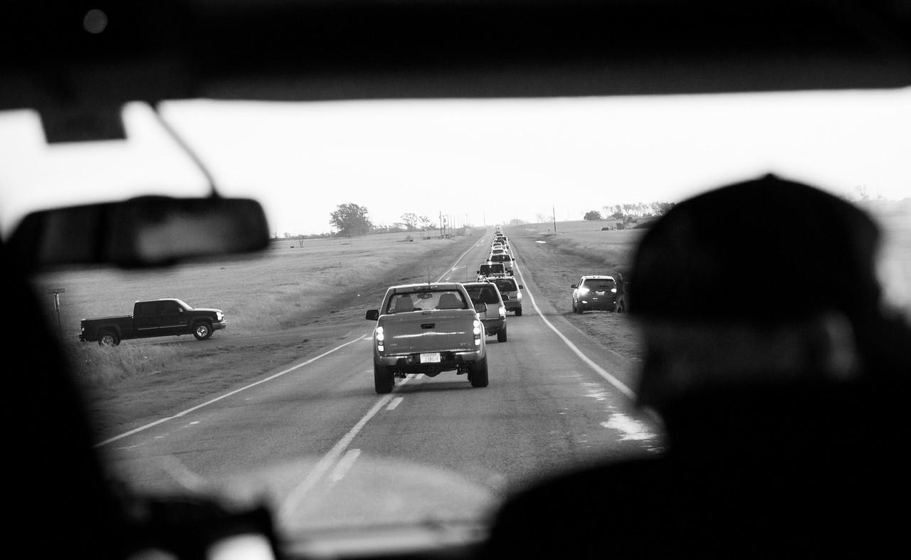 Felt like I-90 during rush hour back in Chicago.