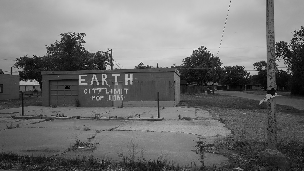 """A place in TX called """"Earth""""."""