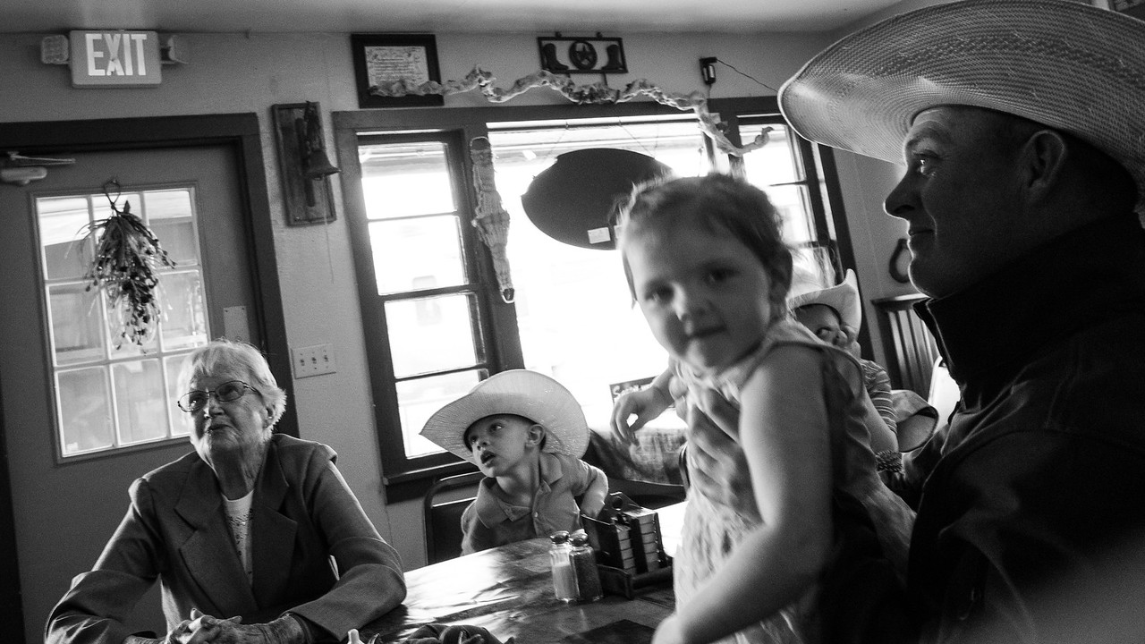 Lunch at Rodeo Grill in Fort Summers NM.