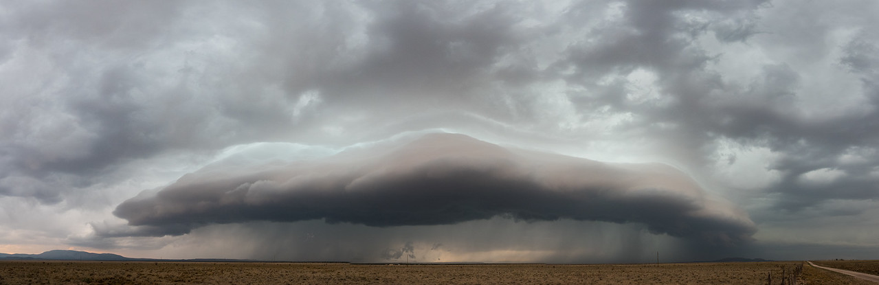 Near Corona NM around 6pm, embedded in this storm, a nearly undetectable and small tornado was formed.  It was Paul first NM tornado in 29 yearrs of chasing.   I like to believe my moisture had helped:)