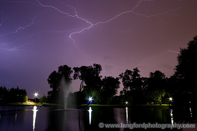 These were so unreal in person.  The crawled across the entire sky in a huge discharge of energy.