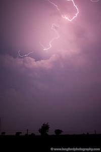 More crazy lightning.