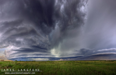 Super wide angle shot of the cell showing the insane wrapping of the meso.