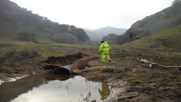 Black Diamond Culvert Failure, Black Diamond Mines Regional Preserve, Antioch