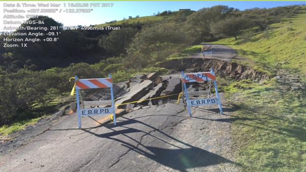 Skyline Trail – Nimitz Way, Tilden Regional Park, Berkeley